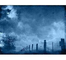 Heavy with mood Photographic Print