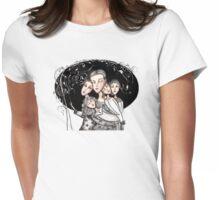 Little women Womens Fitted T-Shirt