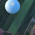Blue balloon by Tony Roddam