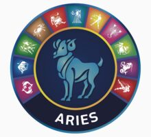 Aries Zodiac Sign by Akhilesh