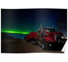 Big Red and the Auroras Poster