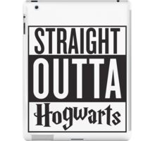 Straight Outta Hogwarts! Harry Potter Compton Mashup Shirt!  iPad Case/Skin