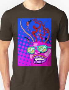 Flying Lotus Inspired- Outta My Mind Unisex T-Shirt