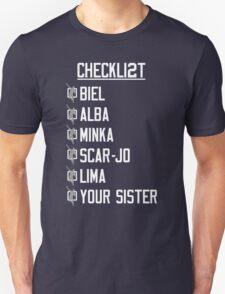 Yeah Jeets - Checklist T-Shirt