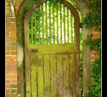 Gate from a church by Gordon Holmes