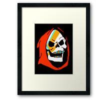 Aladdin Skeletor Framed Print
