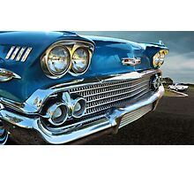 58 Chevy Impala Photographic Print