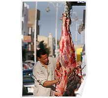 The butcher of Hurghada Poster
