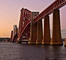 Forth Bridge at dawn....... by imagic