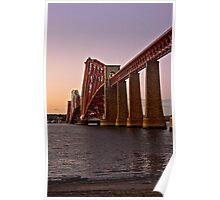 Forth Bridge at dawn....... Poster