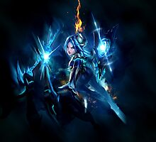 League of Legends - Irelia - The Will of the Blades by ethrwen
