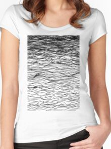 ABOVE THE WATER Women's Fitted Scoop T-Shirt