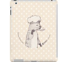 Creating delicious food - Otter - Oldlace iPad Case/Skin