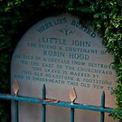 LITTLE JOHN GRAVE Hathersage by Elaine123