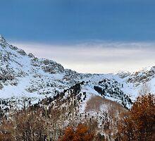 Granite Peaks, Early Snow by Ryan Houston