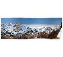 Granite Peaks, Early Snow Poster