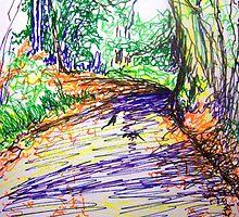 Bunch lane by Fran Webster
