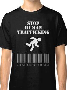 Stop Human Trafficking Classic T-Shirt