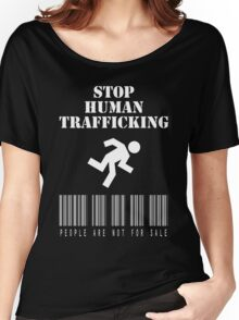 Stop Human Trafficking Women's Relaxed Fit T-Shirt