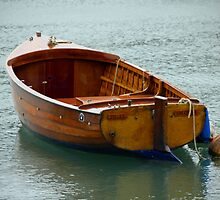 Across the water, there's a boat that will take us away by Debbie Ashe
