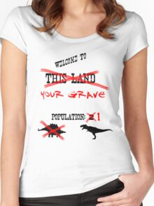 Sudden but Inevitable Betrayal Women's Fitted Scoop T-Shirt