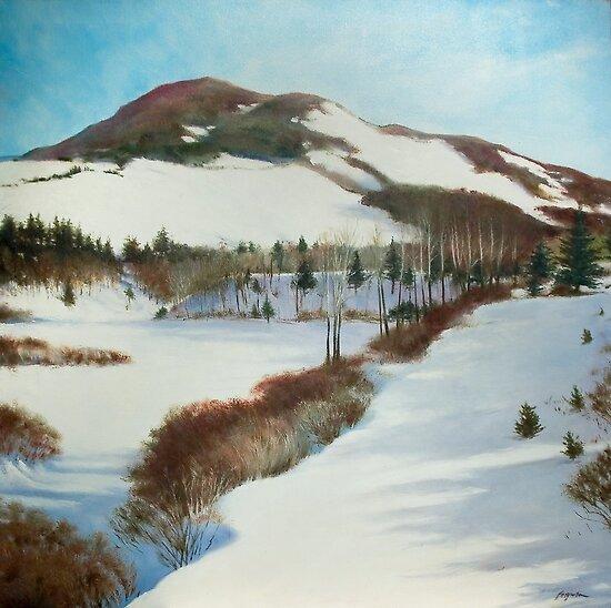 Winter Scape by Richard Ferguson