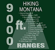 Hiking Montana Ranges by Fran Riley