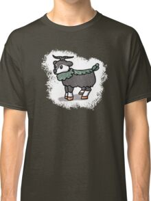 Gray and White Skiddo Pokemon  Classic T-Shirt
