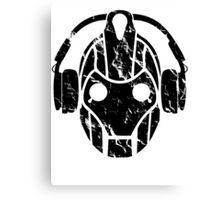Cyberman Rocks Canvas Print
