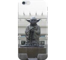 Bronze Yoda Statue iPhone Case/Skin