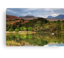 Naverone Lake, Drakensberg, South Africa Canvas Print