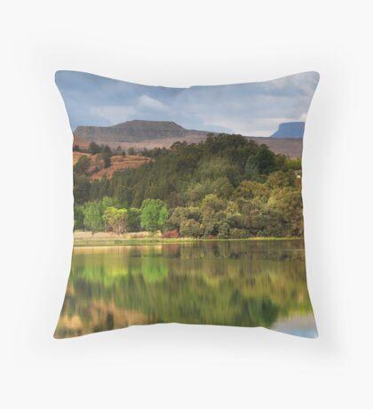 Naverone Lake, Drakensberg, South Africa Throw Pillow
