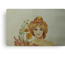 Pears Soap Maiden~ after Mucha Canvas Print