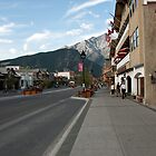 Main Street in Banff by Roger Bernabo