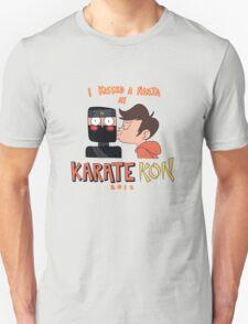 I Kissed a Ninja at KarateKon T-Shirt