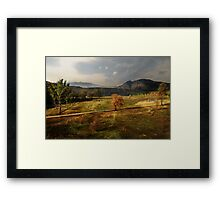 Lake Naverone, South Africa Framed Print