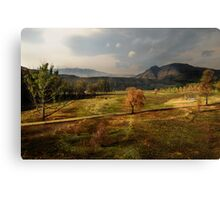 Lake Naverone, South Africa Canvas Print