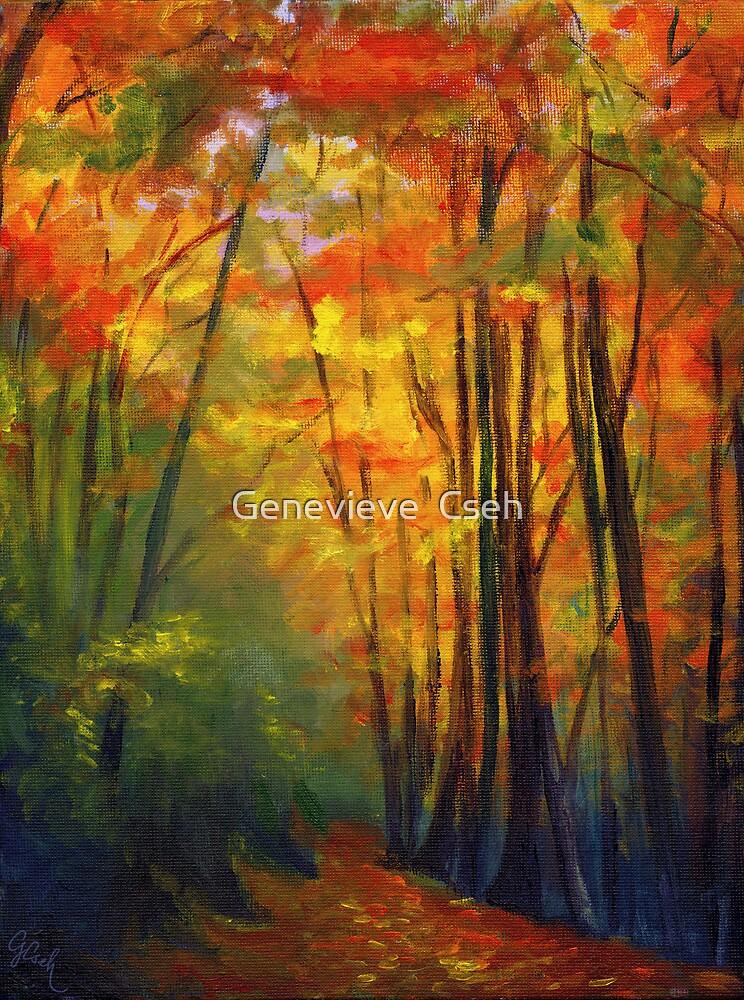 Autumn Walk by Genevieve  Cseh