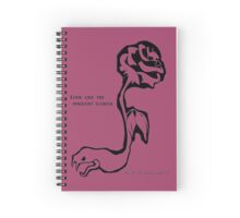 ...Be the Serpent Under It Spiral Notebook