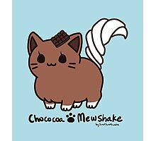 Sweet Treat Kitties - Chococoa Mewshake Photographic Print