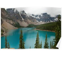 Moraine Lake in Banff National Park, Canada Poster