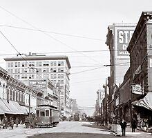 Vintage Downtown Birmingham Alabama by Mark Tisdale