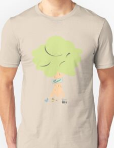 Green world about green life - save tree T-Shirt