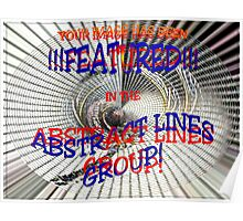 ABSTRACT LINES GROUP BANNER Poster