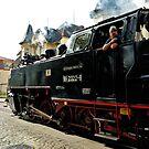 "MVP117 The ""Molli"" steam train in Bad Doberan, Germany. by David A. L. Davies"