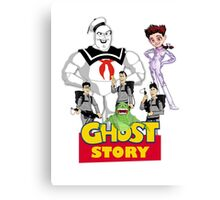 Ghost Story: Ghostbusters + Toy Story mashup Canvas Print