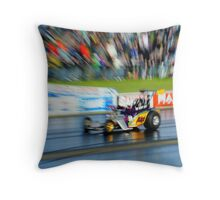 Exploded view Dragster Throw Pillow