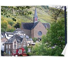 A Church in Cochem Poster