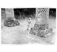 Samantha Among The Ruins Poster