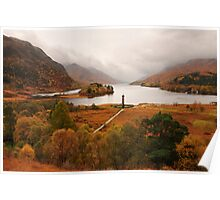 Glenfinnan Autumn Poster